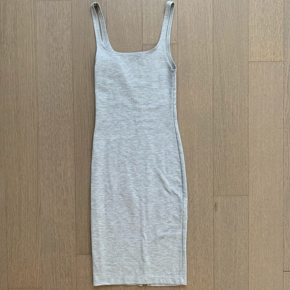 Zara Dresses & Skirts - Zara Gray Bodycon Dress Size Small